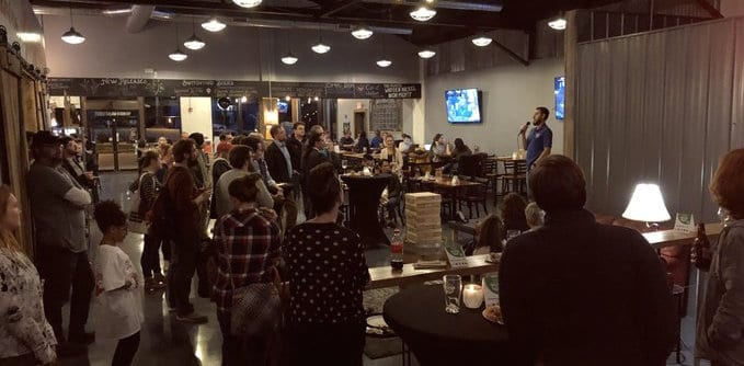 Startup Weekend at Switchyard Brewing